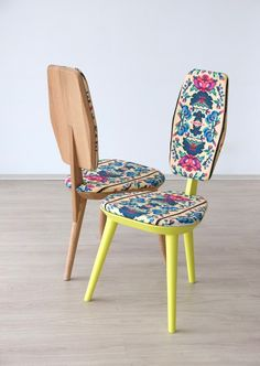 design traditional chairs Ethnic Prints and Modern Elegance: The Lana for Photoliu Chair
