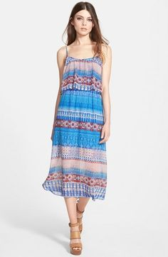 Wayf Midi Overlay Dress available at #Nordstrom