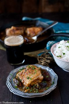 Moroccan Stout Chicken with #stonebrewing Smoked Porter or Imperial ...