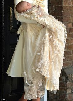 Honiton Lace Christening Gown