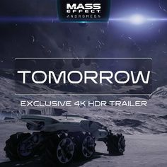 via nvidiageforce - Want to see exclusive Andromeda gameplay in glorious HDR? Tune in tomorrow for our exclusive new tech trailer! Mass Effect Universe, Hdr, Tech, Adventure, Movie Posters, Film Poster, Adventure Movies, Adventure Books, Technology