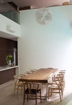 3 Meter Suar Table with Stainless Steel frame legs  x Herman Furniture Singapore - 2