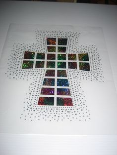 Cross Diy Heat Transfer in Metallic Squares & Loads by cthorses66, $11.99