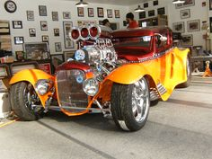 Looks just like a Real Hot Wheels Car that you can Drive.
