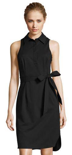 Adrianna Papell | Elsa Shirt Dress with Self-Tie Waist