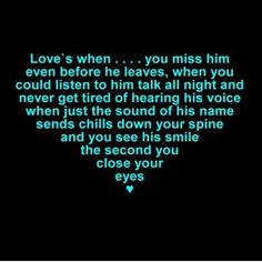 Exactly how I feel about my husband! Love him more every day!! Xoxo
