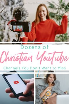 Tons of great Christian YouTube channels you'll want to check out for encouragement, biblical marriage, modesty Christian Women Quotes, Christian Wife, Christian Faith, Christian Living, Biblical Marriage, Biblical Womanhood, Christian Podcasts, Christian Resources, Christian Songs