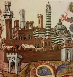 12 ottobre 1325, data importante per Siena: si pose la prima pietra della Torre del Mangia