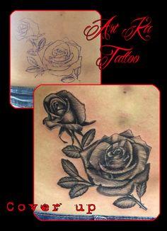 #coverup #coveruptattoo #coperturatatuaggio #tatuaggio #ink #inked #covercicatrice #scarcover #rose #roses #rosestattoo #flowers #flowerstattoo #artka #artkatattoo #pinerolo #pinerolotattoo #pinterest #pinteresttattoo