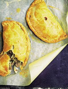 CORNISH PASTY (19 October 2014) | Tom Parker-Bowles: 'Eunice Woolcock, a 91-year-old Cornish lady, made the best pasties I had ever tasted. Just sublime. The key is not cooking anything first. And no fancy ingredients, either. No mucking about, just raw skirt or chuck steak, raw potato and swede, lots of pepper and proper pastry. As Eunice would say, 'There's a Cornish pasty. And that's it. The rest are just pasties.'     ✫ღ⊰n
