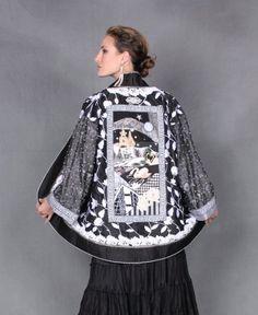 Amy Zerner wearable art
