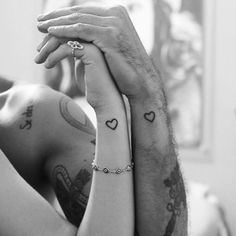 2017 trend Tiny Tattoo Idea - 31 Couples With Matching Tattoos That Prove True Love Is Permanent...