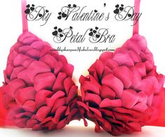 DIY {Not Just For} Valentines Day Petal Bra