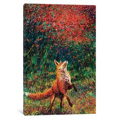 Look at this Iris Scott Fox Fire Gallery-Wrapped Canvas Canvas Artwork, Canvas Art Prints, Painting Prints, Fire Painting, Iris, Sculpture, Online Art Gallery, Oeuvre D'art, Original Paintings