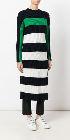 b6754147cc83 Stella McCartney Long-length Striped Dress - Farfetch