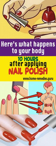 Here's what happens to your body 10 hours after applying #nail #polish #remedy #health #healthTip #remedies #beauty #healthy #fitness #homeremedy #homeremedies #homemade #trends #HomeMadeRemedies #Viral #healthyliving #healthtips #healthylifestyle #Homemade