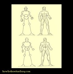 Cómo Dibujar Fantasía: Cómo dibujar la anatomía humana