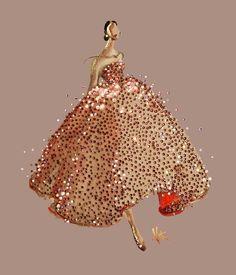 Paper Fashion, Oscar De LaRenta
