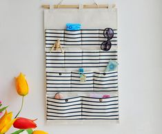 Stockage de grande taille de poche poche/Wall / mur de sac de rangement / stockage/dos ménage porte sachet