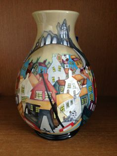Moorcroft Vase Whitby Limited Edition of 100 New 2014 Stunning Detail RARE | eBay