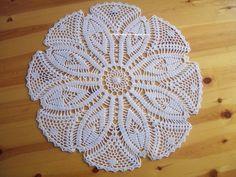 """Le crochet des 8jika: Napperon rond """" marguerite"""""""