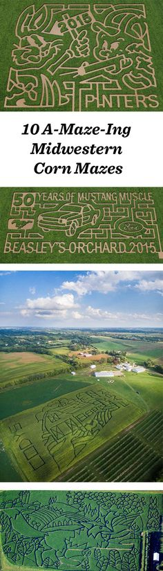 Check out our blog for 10 great corn mazes to get lost in this fall: http://www.midwestliving.com/blog/travel/10-a-maze-ing-photos-of-midwest-corn-mazes/