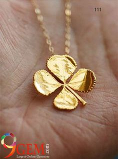 Beguiling leaf #Style of #Gold #Vintagejewelry from 9Gem.com