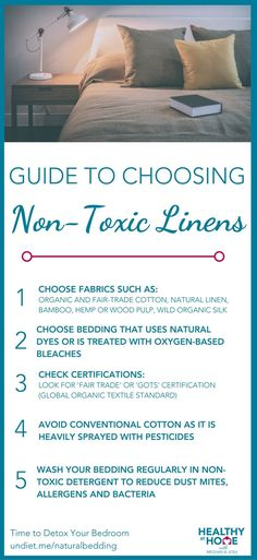 Guide To Choosing Non-Toxic Linens