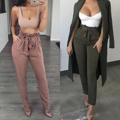 Simple Summer to Spring Outfits to Try in 2019 – Prettyinso Mode Outfits, Chic Outfits, Spring Outfits, Fashion Outfits, Winter Outfits, Cute Fashion, Look Fashion, Girl Fashion, Womens Fashion