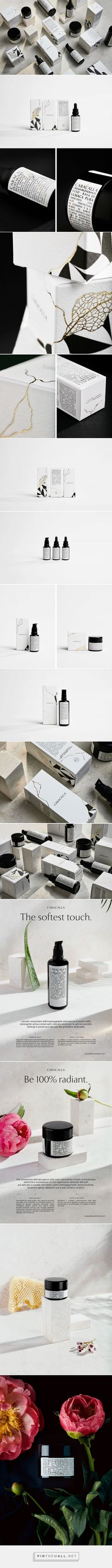 CARACALLA Cosmetics packaging design by CaroselloLab - http://www.packagingoftheworld.com/2018/01/caracalla-cosmetics.html