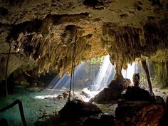 Underground River & Famous 5th Ave Shopping, Cozumel, Mexico