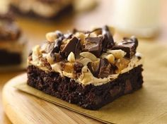 Peanut Butter Rocky Road Brownies