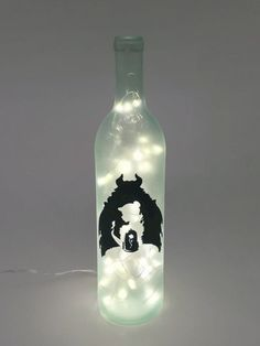 Hey, I found this really awesome Etsy listing at https://www.etsy.com/listing/474044701/beauty-and-the-beast-wine-bottle-lamp