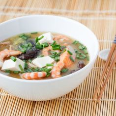 Slow Cooker Miso Soup With Shrimp