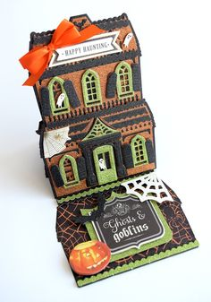 Anna Griffin on HSN, 10 Years of Beautiful in the Making - Anna Griffin Flip Cards, Pop Up Cards, Card Making Kits, Making Ideas, Side Step Card, Anna Griffin Cards, Easel Cards, House Of Cards, Halloween Cards