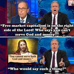 Conservatives/Republicans/Christians, etc. don't even agree with their own Messiah. IDIOTS.