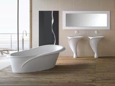 """Kollektion von blumenartigem Sanitär """"Kalla"""" von Mastella Design"""