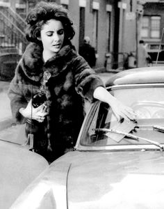 Elizabeth Taylor / WTF?  WHO HAD THE NERVE?  I THINK THEY KNEW IT WAS HER CAR AND JUST WANTED TO MEET HER ♥