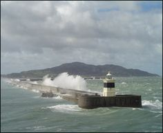 Holyhead, Wales. Where you catch the Ferry to Ireland