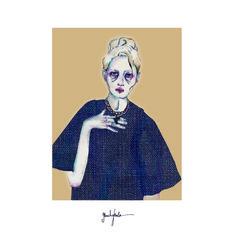 Beatriz Baleeiro, Fashion Design student at IED, reinterprets the Cabinet de Curiosités by Escorpion  #fashion #moda #design  #escorpion #escorpión #moda #punto #fashion #knit #knitwear #080bcn #080barcelona #080bcnfashion #080barcelonafashion #080 #barcelona #fashion #spring #summer #2015 #sweater #jersey #verano #primavera #15 #ss15
