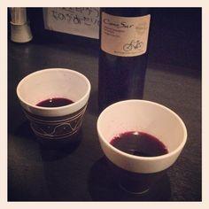 [でなー❸*2012/04/17]    いつものワイン ✨✨      @串寅