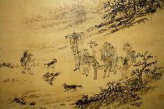 Kim Hong-do, 호귀응렵도, 1795