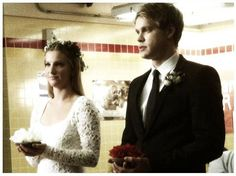 Sam and Brittany Appear to Be Getting Married in Glee's Season 4 Christmas Episode.