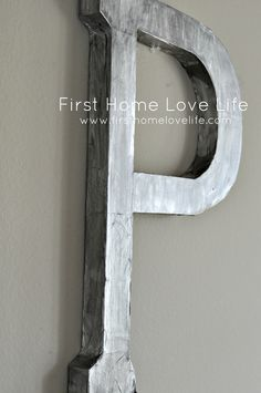 """Antthro inspired """"zinc"""" initial using tinfoil 
