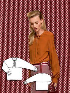 BURDA femme Easy sewing pattern 6727 Side Tie Manteau /& Veste BURDA - 6727