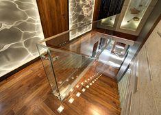Nowoczesna klatka schodowa Drewno w nowoczesnym przedpokoju stairs design poland…