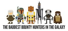 star wars bounty hunters scene | bounty-hunters-empire-strikes-back-rogues-gallery
