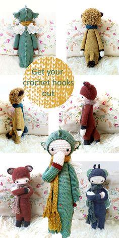 Studio ToutPetit: Tutorial Tuesdays * Get your Crochet Hooks out!