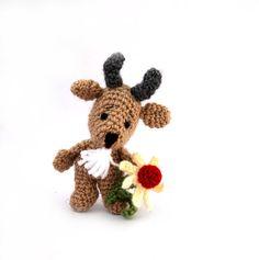 USD 23.46  #crochet #goat #toy, #small #soft toy, #plushie #farm #animal…