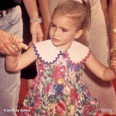 Little lil on a #TBT holding mum and dad's hands. A blondie- who would have known?...